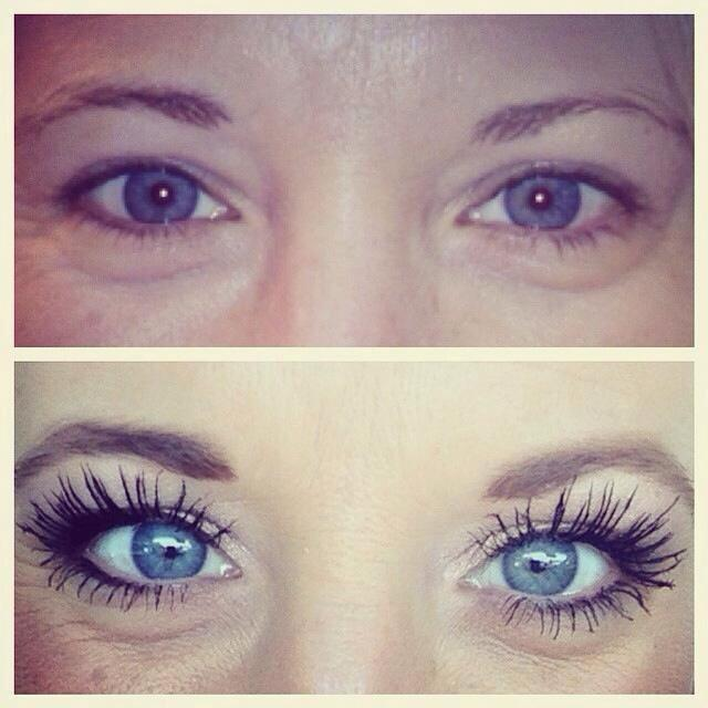 Mascara before and after photo younique makeup skincare amp cosmetics