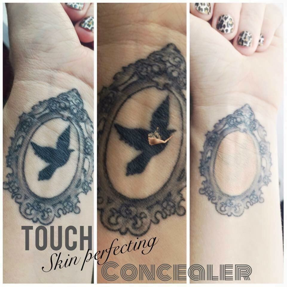 Younique touch skin perfecting concealer younique makeup for Makeup to hide tattoos