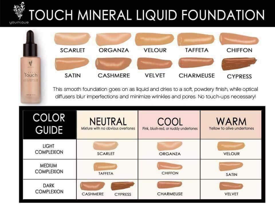 touchliquidfoundationcolorchart