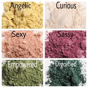 Moodstruck Mineral Pigment Colors
