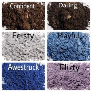 Younique Mineral Pigment Colors