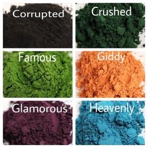 Moodstruck Pigment Colors