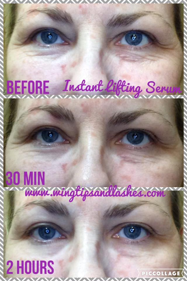 Instant Lifting Serum Younique Results Wrinkles 2 Hours