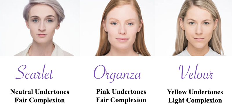 Younique Flawless Four Color Matching Guide Younique